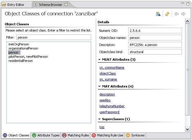 2.3.1 - Adding Schema Elements — Apache Directory
