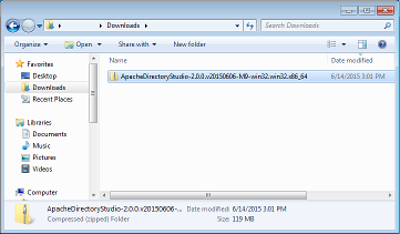 Apache windows 7 64